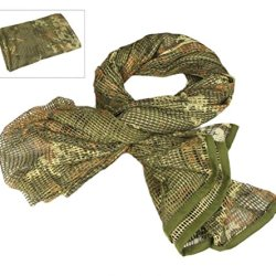Tactical Mesh Net Camo Scarf For Wargame,Sports & Other Outdoor Activities (Cp)
