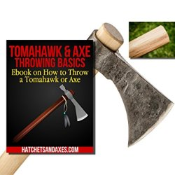 Throwing Tomahawk Axe Kit - 3-In-1: Hawk, Spare Handle & How To Ebook