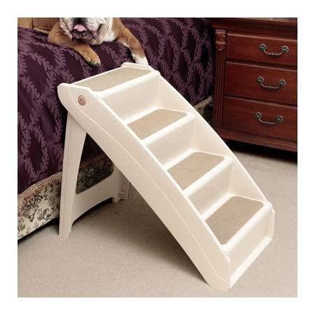 The PupSTEP + Plus XL pet stairs offers the perfect combination of Value + Performance + Styling now suitable for all size dogs and for reaching tall beds. Solvit's PupSTEP + Plus pet stairs are an economical way to help pets reach their favorite pla...