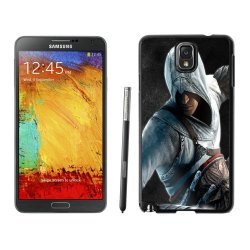 Diy Assassins Creed Desmond Miles Guard Helmet Fist Knife Note 3Black Phone Case