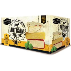 Mad Millie Artisan Cheese Kit, Green/White