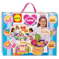 Toy / Play Alex Toys Sweetheart Café Let'S Play Restaurant Set. Accessories, Costume, Outfit, Dishes, Playset Game / Kid / Child