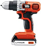 Black & Decker LDX120SB 20V MAX Lithium Ion Drill / Driver with Storage Bag