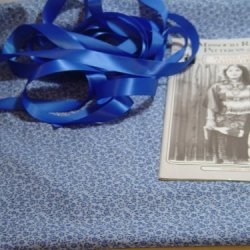 Plains Colth Dress Kit-Blue Calico