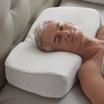 The Brookstone Anti Snore Pillow