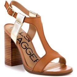 Kelsi Dagger Women'S Gabbie Sandal, Luggage, 9.5 M Us