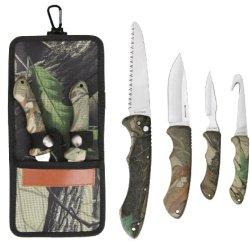 Sarge Knives Sk-151 Hanging Game Kit With Gut Hook Knife