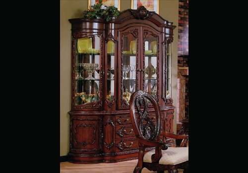 Image of Master Dining Room China Cabinet Hutch Buffet Lighted (VF_AZ00-45596x28281)