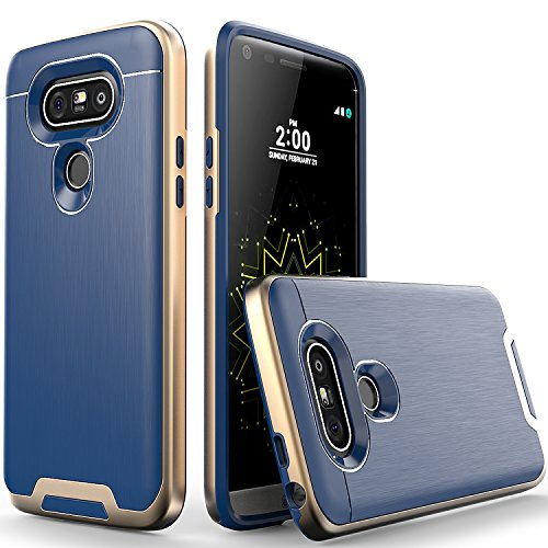 LG-G5-Case-Artech-21-Lazer-Series-Ultra-Slim-Dual-Layers-Protective-Bumper-Hybrid-Case-for-LG-G5Golden-Navy