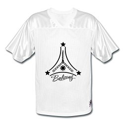 Gzg Men'S Balisong American Football Jerseys S White