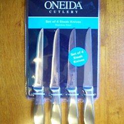 Oneida Cutlery Steak Knives Set Of 4