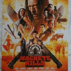 "Machete Kills 11"" X 17"" Promotional Movie Poster"