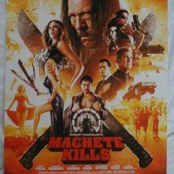 "Machete Kills 11"" X 17"" Promotional Movie Poster"