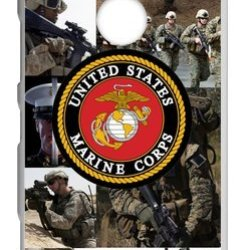 Lilichen Forever Collectible Usmc Marine Corps Case Cover For Nokia Lumia 1520 (Laser Technology) -- Desgin By Lilichen