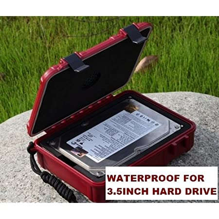 Thanks to its waterproof and shockproof construction, the small case lets you safely transport your 3.5 inch harddrive in any situation. Open-cell foam in the main body and inside the lid compresses around the contents to keep them from shifting and ...