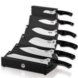 Boker Usa Gorm Block Set Black Micarta Handle 130563Set
