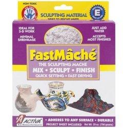 Activa Fastmache Sculpting Mache, 2-Pound, Bright White