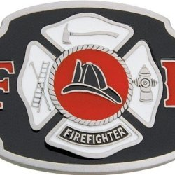 Belt Buckle Firefighter.