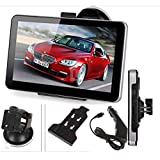 Valword 7 Inch Car GPS 4gb Hd Touch Screen Navigation System Navigator Vehicle Tracker