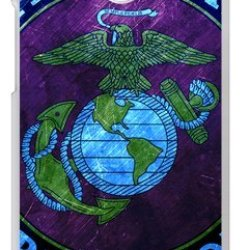 Lilichen Cool Design Forever Collectible Usmc Marine Corps Case Cover For Htc One M8 (Laser Technology) -- Desgin By Lilichen