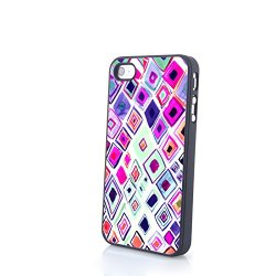Generic Phone Accessories Matte Hard Plastic Phone Cases Blossom Pattern Fit For Iphone 4/4S