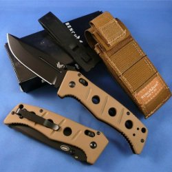Benchmade 2750Bksn Adamas Autoaxis Plain Edge Knife