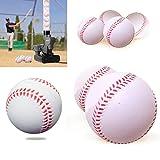 iNextStation Bolt Balls Soft Practice Training Baseballs Softballs - Pack of 12