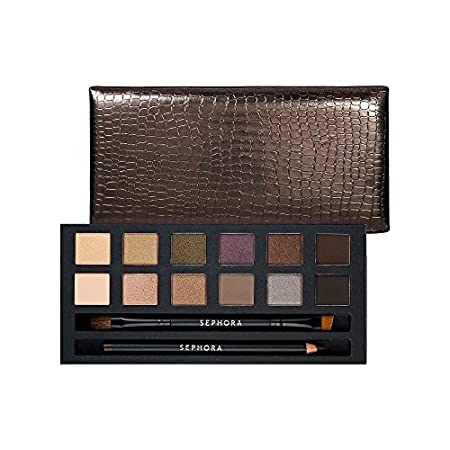 A must-have eye makeup palette featuring natural, everyday shades. This perfect palette features all the essentials for creating a flawless, neutral or smoky eye. It contains 12 must-have eyeshadows, one eye pencil, one brush, and one mirror, all pac...