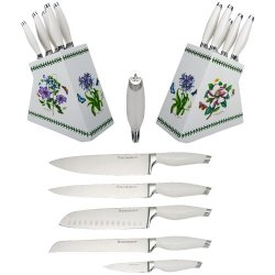 Portmeirion Botanic Garden 5-Piece Cutlery Set With Storage Block