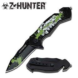 Z-Hunter Spring Assisted Knife 5'' Closed Zb-083Sk