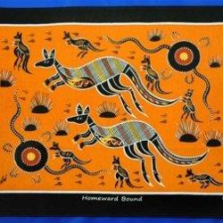 Tea Towel Kangaroo'S Homeward Bound