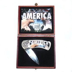America Collectible Folding Knife