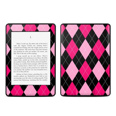 Amazon Kindle Paperwhite スキンシール【Argyle Style】