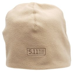 5.11 #89250 Watch Fleece Cap (Coyote Brown, Large/X-Large)