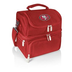 Nfl San Francisco 49Ers Pranzo Insulated Lunch Tote, Red, 12 X 11 X 8-Inch
