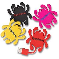 Spyderco Usb Flash Drive, Yellow Spydie Bug
