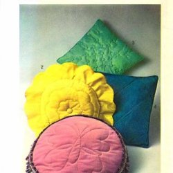 Simplicity 9140 Vintage Sewing Pattern Knife Edge Pillows