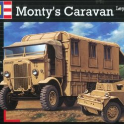 Revell Of Germany Monty'S Caravan Leyland Retriever And Scout Car Plastic Model Kit