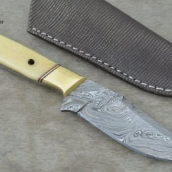 Huge Sale By Leather-N-Dagger | Professional High Quality Custom Handmade Damascus Steel Hunting Knife (100% Satisfaction Guaranteed) Ld145