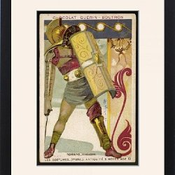 Framed Print Of Roman Gladiator