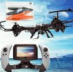 HB-HOMEBOAT-U818S-WIFI818-6-Axis-Gyroscope-RC-Quadcopter-with-FPV-Camera-and-Remote-Control-468-x-468-x-12-cm-Black