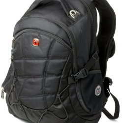 Swissgear Computer Backpack (Black) Fits Most 15.6-Inch Laptops