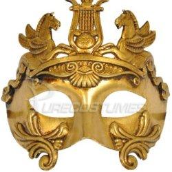 Perseus Warrior Mask (Gold)