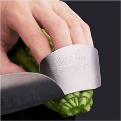 Hot Stainless Steel Hand Guard Finger Protector Knife Slice Chop Safe Slice Tool?