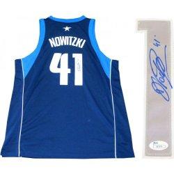 Dirk Nowitzki Autographed Authentic Dallas Mavericks Jersey