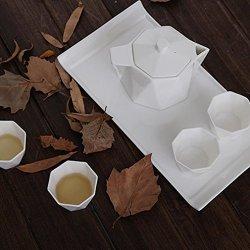 Granvela Tea Sets Tea Cups Pure Bone China Designed Artworks A Pot Of 4 Cups And A Saucer