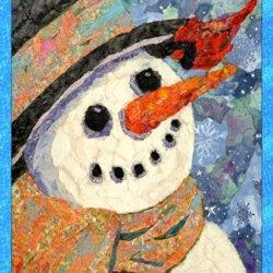 Toland Home Garden Snowman And Cardinal House Flag 109700