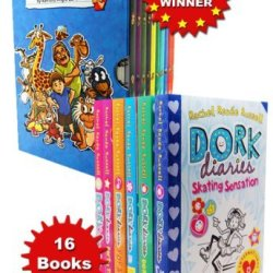 Rachel Renee Russell Dork Diaries And The Diaries Of Robins Toys 16 Books Collection Set Pack