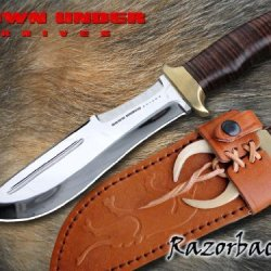 Down Under Knives Razorback Fixed Blade