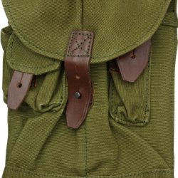 China Made 4184 Misc Military Surplus Ak Three Pocket Mag Pouch